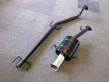 "VAUXHALL ASTRA Mk4 SPORTS EXHAUST SYSTEM 98-2001 ASTRA G 3.5"" Tip"