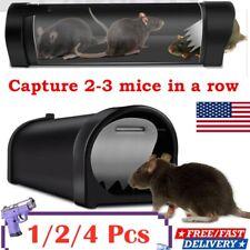 Mouse Trap Humane Live Reusable Rat Catcher Pest Rodent Mice Vermin Bait Cage Us