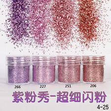 Nail Art Glitter Powder Dust For UV Gel Acrylic Powder Sequins Decoration Tips