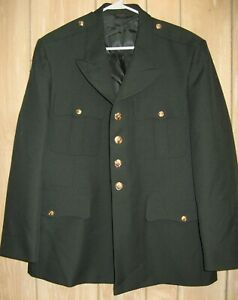 Marlow White Soldier Green Army Jacket The Choice of the Professional Size 46 S