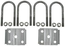 "Trailer Leaf Spring 2-3/8"" Round 3500lbs Axle U-Bolt Kit 5-1/2"" Long"