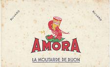 Buvard Vintage  Moutarde Amora la Moutarde de Dijon