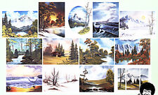 BOB ROSS, 3-disc DVD SET, Series 10 Teaches13 Paintings, beautiful Snowy scenes