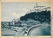CARTOLINA d'Epoca: IMPERIA -  CERVO LIGURE