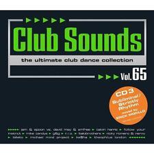 CLUB SOUNDS VOL. 65 * NEW 3CD-SET 2013 * NEU *