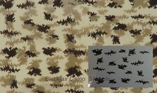 """Camo Digital Small Pattern 04 (1) 12""""x9"""" stencil,Duckboat, Ammo Can,Weapons,Bows"""