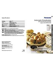 Panasonic SD255 SD254 Bread Machine Owners Manual User Guide Recipe Copy Reprint