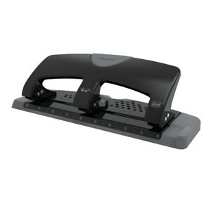 Swingline 3 Hole Punch SmartTouch 20 Sheet Capacity Low Force Black 74075 NEW