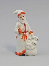 9942814 Wagner&Apel Porzellan Figur Weihnachtsmann Santa Claus  H11,5cm