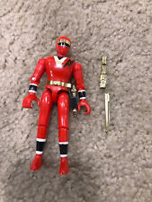 1995 Mighty Morphin Power Rangers Red Alien Ranger (Broken Sword)