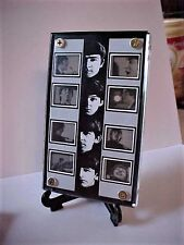 Beatles A HARD DAYS NIGHT Film Frame Display with zipper Pouch  2 Guitar Picks