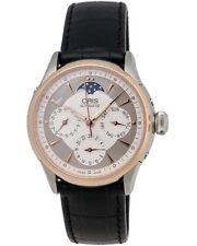 Oris Artelier Two-Tone Day/Date Automatic Ladies Watch - 01 581 7606 6351 FC