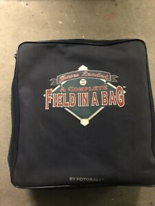 Field In A Bag Baseball/softball Kit.Bases And Pitchers Mound , Instructions.