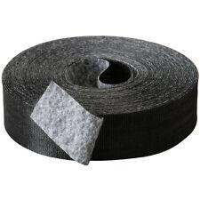 "Rip-Tie 1"" x 30 ft. Rip Wrap Black Roll G-10-030-BK"