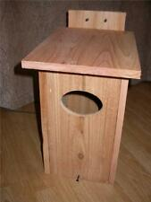 1 WOOD DUCK NEST BOX CEDAR HOUSE,, HANDMADE,FREE S/H
