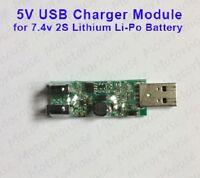 5V USB Charging Module For 2S 7.4V 8.4V Lithium Li-ion Li-Po 18650 Battery Cell