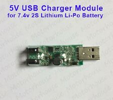 5V USB Charger Module for 2S 7.4V Lithium Li-ion Li-Po 18650 Battery Cell 8.4V