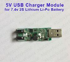 5V USB Charger Module for 2S 7.4V Lithium Li-ion Li-Po 18650 Battery Cell 8.4V