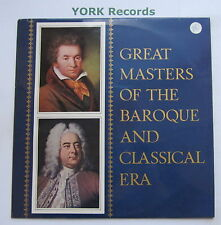 0044758 - GREAT MASTERS OF THE BAROQUE & CLASSICAL ERA - Excellent Con LP Record