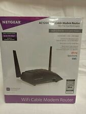NETGEAR AC1200 Dual Band Wi-Fi Cable Modem Router C6220