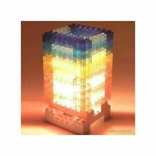 LED Building Bricks USB or AA Batteries Desk Table Lamp 76 Pieces New