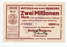 bay1250  Nabburg,  2 Mio Mark
