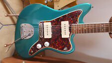 Fender JAZZ MASTER ORIGINALE 1966 Teal Green Metallic