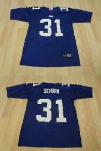Youth New York Giants Jason Sehorn S (8) Vintage Jersey (Blue) Adidas Jersey
