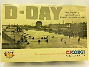 Corgi Classics D Day 50th anniversary Operation Overlord 97714 Diecast Set