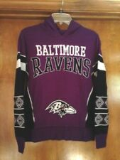 06fe6d47ac4 BALTIMORE RAVENS NFL Ugly Sweater w Hood Purple Multi-Color Youth XL (