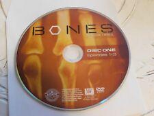 Bones Third Season 3 Disc 1 Replacement DVD Disc Only 65-13