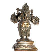 A Lovely Unique Lovely Brass made Buddha Ganesh Ganesha SILVER - COPPER ARTWORK