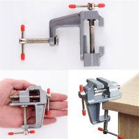 35mm Aluminium Kleine Jewelers Clamp Auf Tabelle Schraubstock Miniwerkzeug B5R8