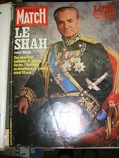 Paris Match N° 1459 13/5/1977 Le Shah Jeane Manson LE Laurain Paula Delsol Biggs