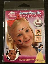 NEW DISNEY PRINCESS SNOW WHITE INSTANT PRESS ON FACE PAINT TEMPORARY TATTOO