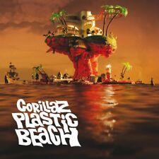 Gorillaz Plastic Beach CD European Parlophone 2010 16 Track Gatefold Card