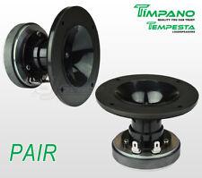 Pair Timpano TPT-DH150 1'' Ferrite Compression Driver + 1 inch Exit Plastic Horn