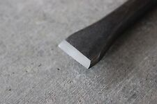 NEW! Hand-Forged Blacksmith Flat Blade Chisel - Made from 5160