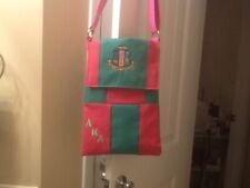 Alpha Kappa Alpha Sorority Crossbody Bag  AKA