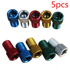 5pc Presta to Schrader Valve Adapter Converter Road Bike Cycle Bicycle Pump Tube