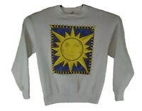 Vintage 90's Maze Crew Neck Sweatshirt Sun Size Large Made In USA  Some Stains!!