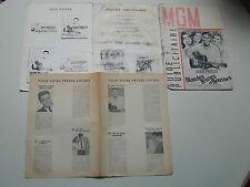 ELVIS PRESLEY MGM guide publicitaire film BLONDES BRUNES ROUSSES 1964 J'OBRIEN