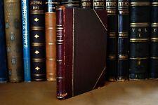 Gorgeous Half Leather Copy: Apuntes de Geografia Humana, 1943 Villarreal