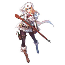 "Girls Frontline Mosin-Nagant Anime Waifu Sticker (Mosin Nagant) 6"" Decal"