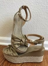 Michael Michael Kors Maxwell Mid Wedge Gold Sandals - Size 11 *Brand New!