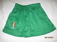 Ireland Soccer Shorts Youth Boys 1/2 Irish National Team World Cup Futbol