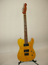 Fender Special Edition Custom Telecaster FMT HH Electric Guitar - Amber