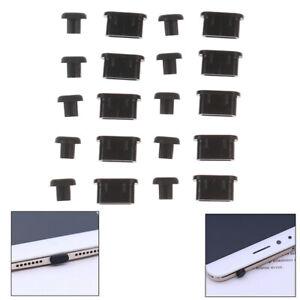 10Pairs/20pcs 3.5mm Earphone Jack Anti Dust Plugs And Type-C Port Pl`