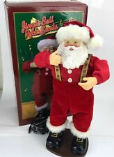 Jingle Bell Rock Santa 1998 Singing Dancing Animated Christmas Figure 1st Ed