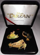 Walt Disney Tarzan 1999 3 Pin Bade Set